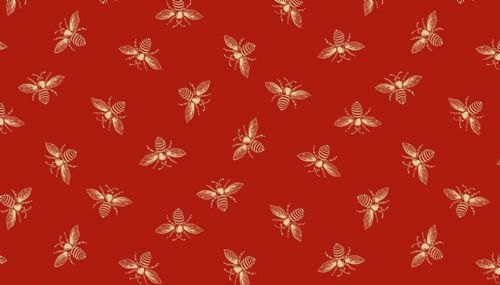 Riviera Rose Honey Bees Red 2/9084R